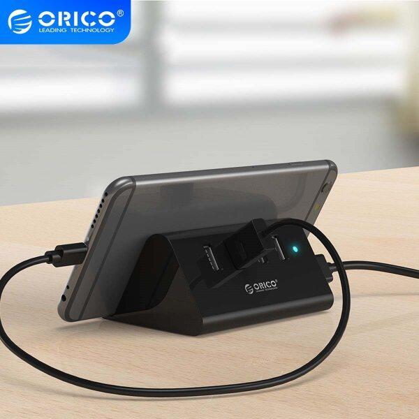 Bảng giá ORICO SHC HUB USB Mini 4 Port USB 3.0/ 2.0 HUB Với Điện Thoại Máy Tính Bảng Chủ 1M Dữ Liệu Dây Bộ Chia USB Cho Laptop Notebook Máy Tính Phong Vũ