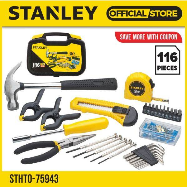 STANLEY STHT0-75943 116PCS ACCESSORY TOOL KIT IN CASE