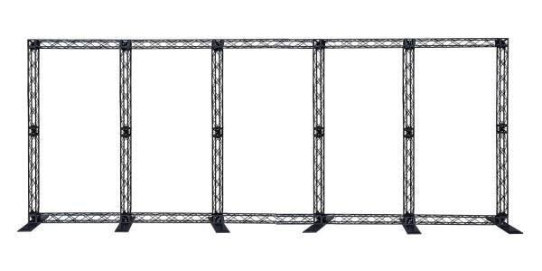 Mini Truss Display System 8 x 19 Feet  ( Material : Aluminium, Plastic Truss )