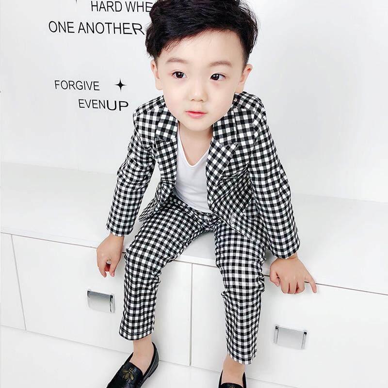 7d8a8858a New Children Suit Baby Boys Suits Kids Blazer Boys Formal Suit for Wedding  Boys Clothes Set