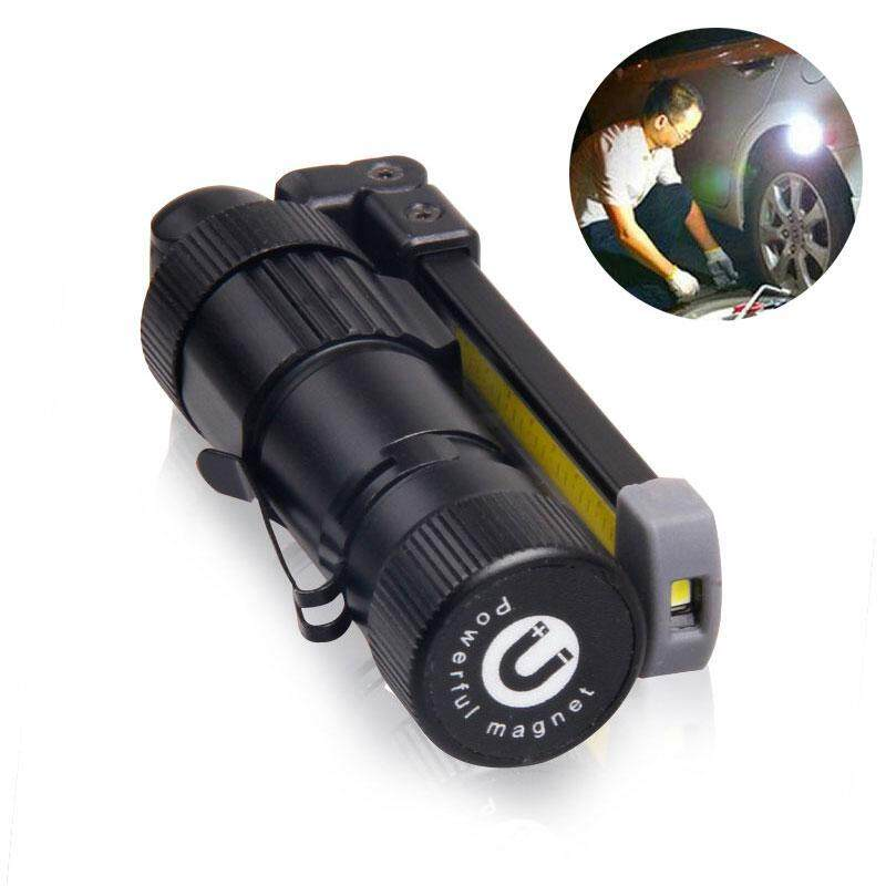 GoodGreat LED Work Light, USB Rechargeable Work Lights With Mag netic Base 360°Rotate And 5 Lighting Modes Ultra Bright COB Flashlight Inspection Lamp