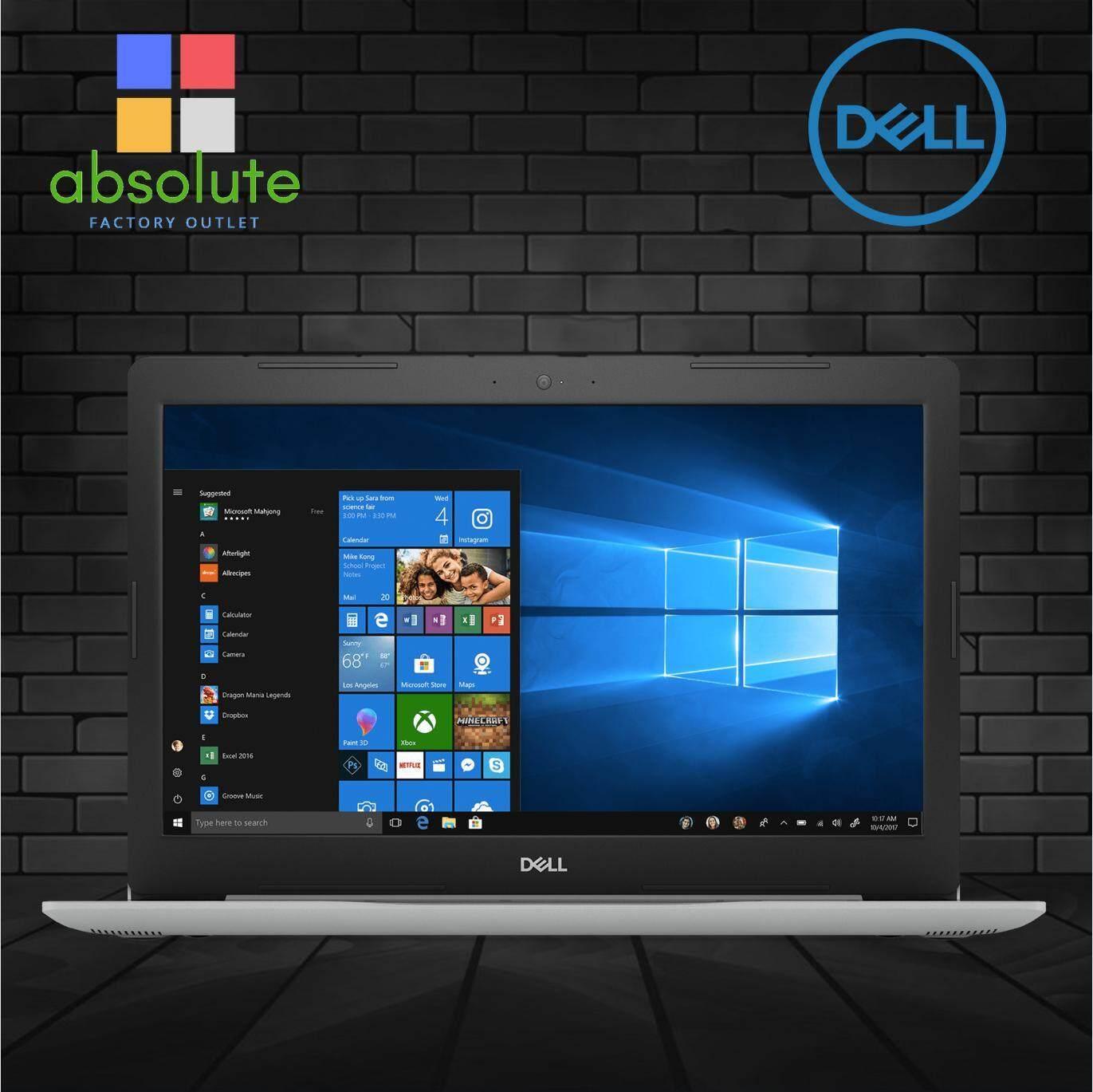 Dell Inspiron 13 5370 Laptop (Intel Core i5-8250U, 4GB RAM, 256GB PCIe NVMe SSD, AMD 530 2GB, 13.3 FHD, 1 Year Dell Warranty) Malaysia