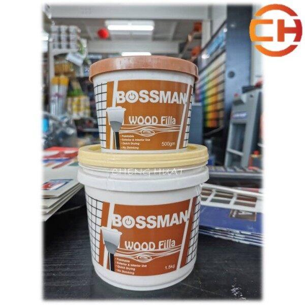BOSSMAN WOOD FILLA (500G/1.5KG)
