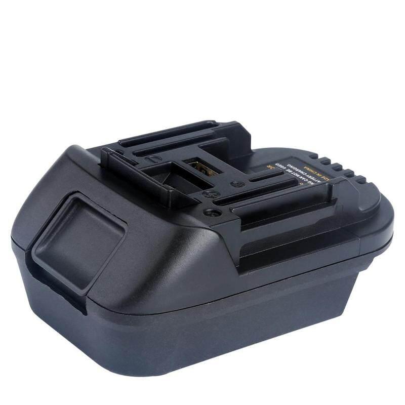 DM18M Battery Converter Adapter for Makita 18V Lithium-ion Power Tools Convert Milwaukee 18V or Dewalt 20V Lithium-ion Battery to Makita 18V Lithium-ion Battery
