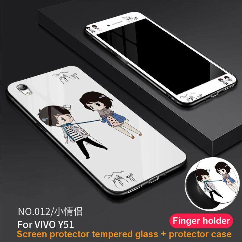 Rp 75.000. Untuk Vivo Y51 Ultra Tipis Kaca Anti Gores untuk Telepon Genggam Sarung Ponsel Keras ...