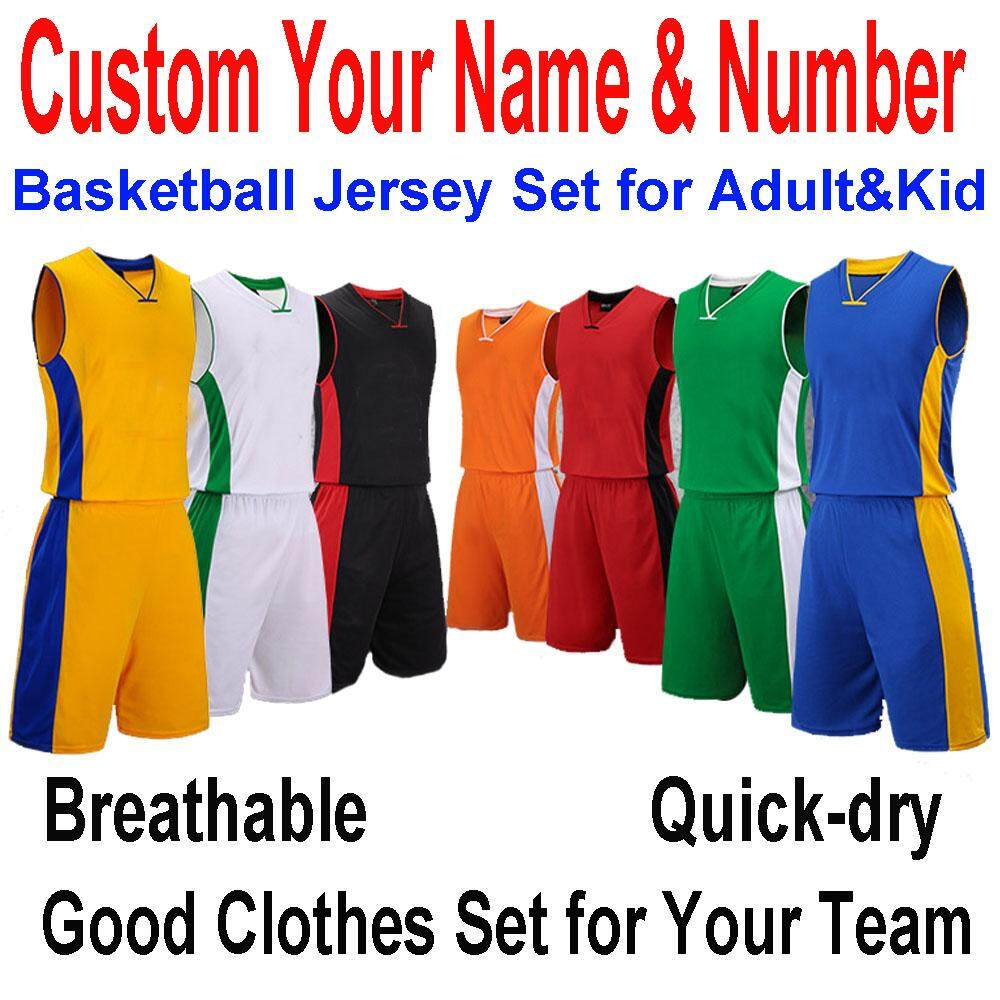 Boys Basketball Jerseys Short Suits Sets Youth Team Sportswear Sporting Tops