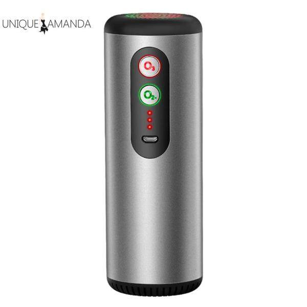 Car Air Purifier USB Rechargeable Anti Bacterial Odor Eliminator Air Cleaner Singapore