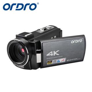 ORDRO Camera Video AE8 4K Máy Quay Phim, Camera WiFi Kỹ Thuật Số Zoom Kỹ Thuật Số 16X 60FPS Máy Quay Phim Máy Quay Video Kỹ Thuật Số Vlog Youtube Chuyên Nghiệp Màn Hình IPS 3.0 Inch Tầm Nhìn Ban Đêm IR thumbnail