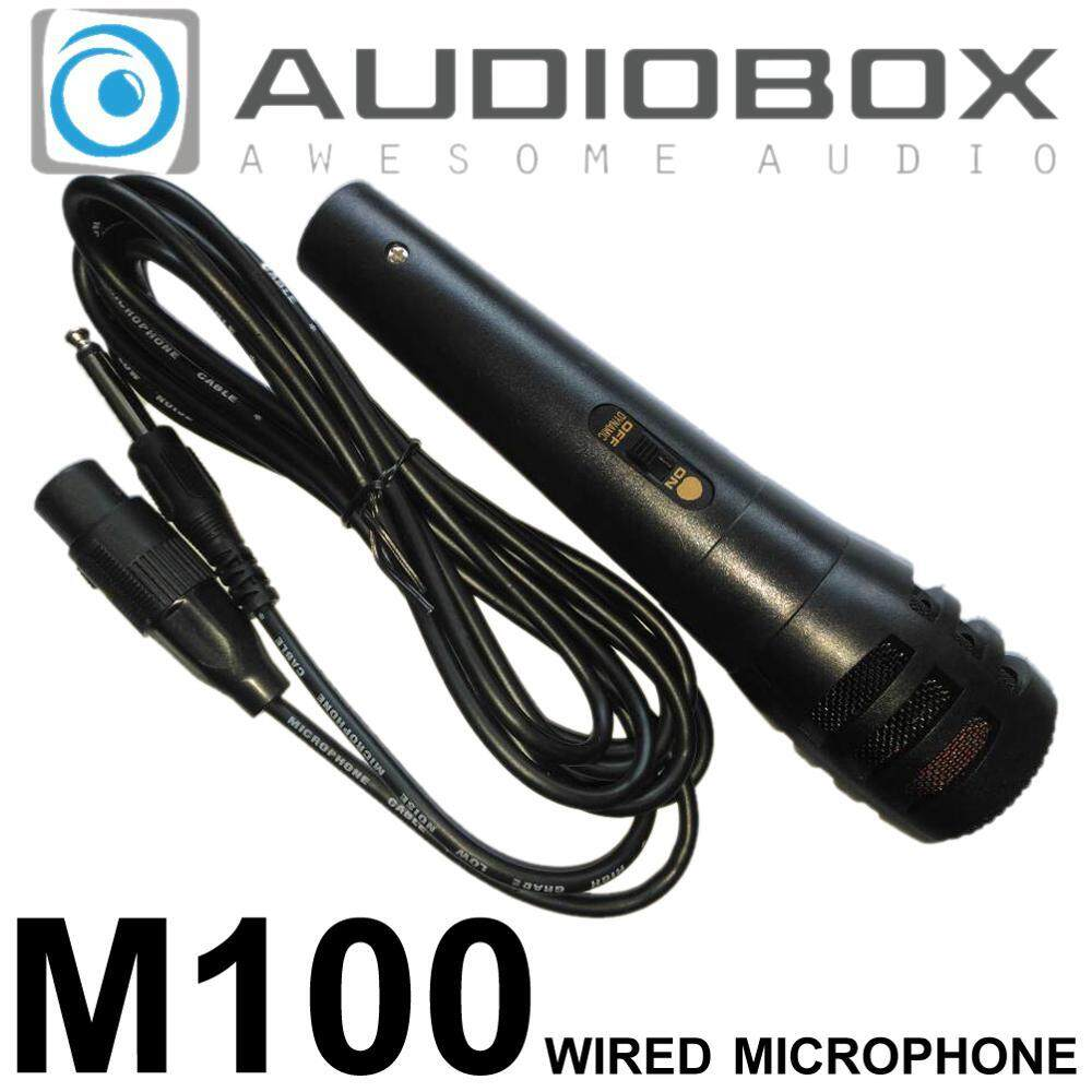 Audiobox M100 / M300 Wired Microphone