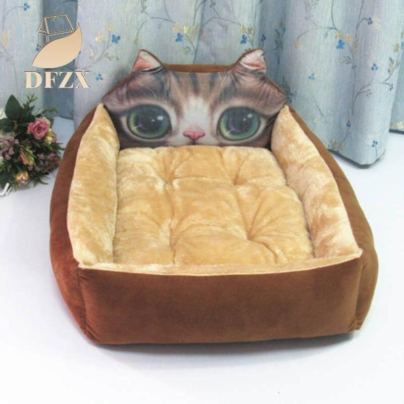 Dfzx Thương Mại Hoạt Hình Dễ Thương Hình Dáng Con Vật Giường Thú Cưng Ấm Làm Tổ Cho Chó Mèo Ngủ