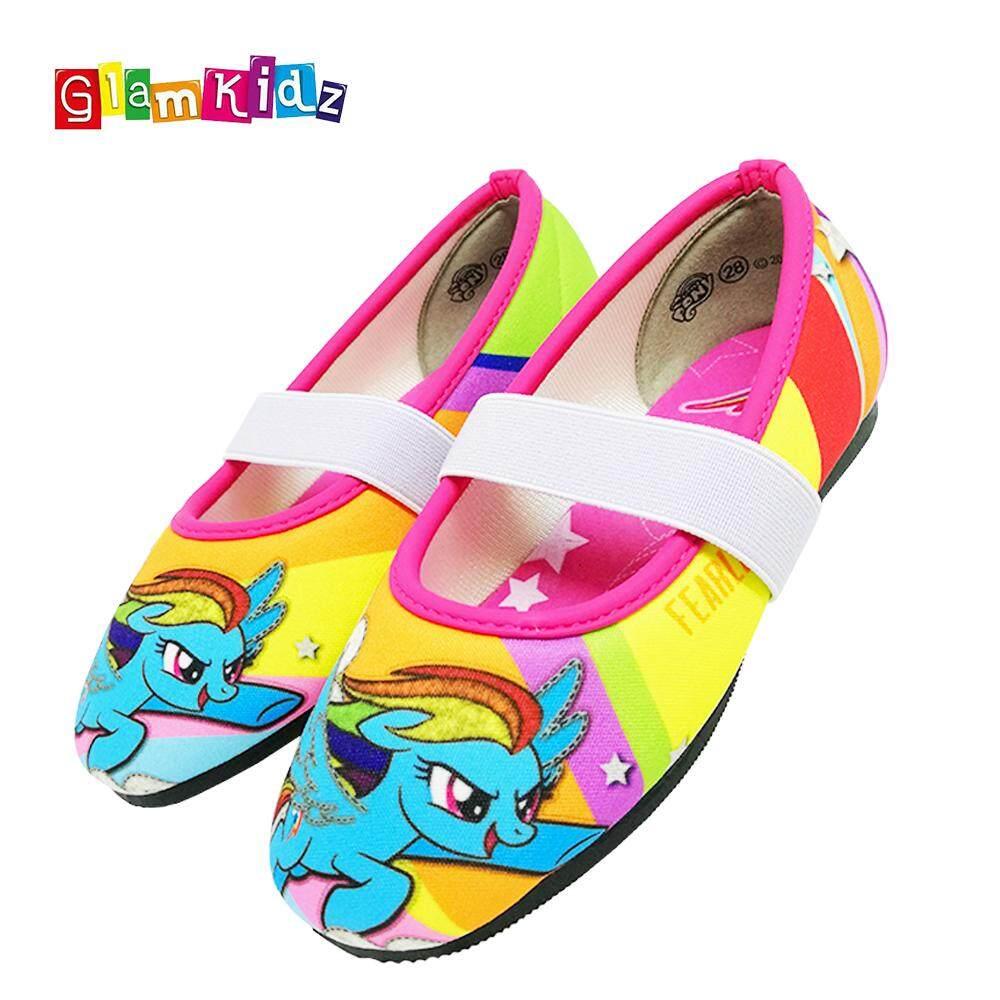 0b86d0c7a45 GlamKidz My Little Pony Girls Sandals (Rainbow)  6238