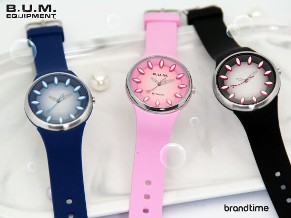 B.U.M. Equipment B-Touch Japan movement, 100m water resistant, boys and girls casual analog silicone watch model B959 Malaysia