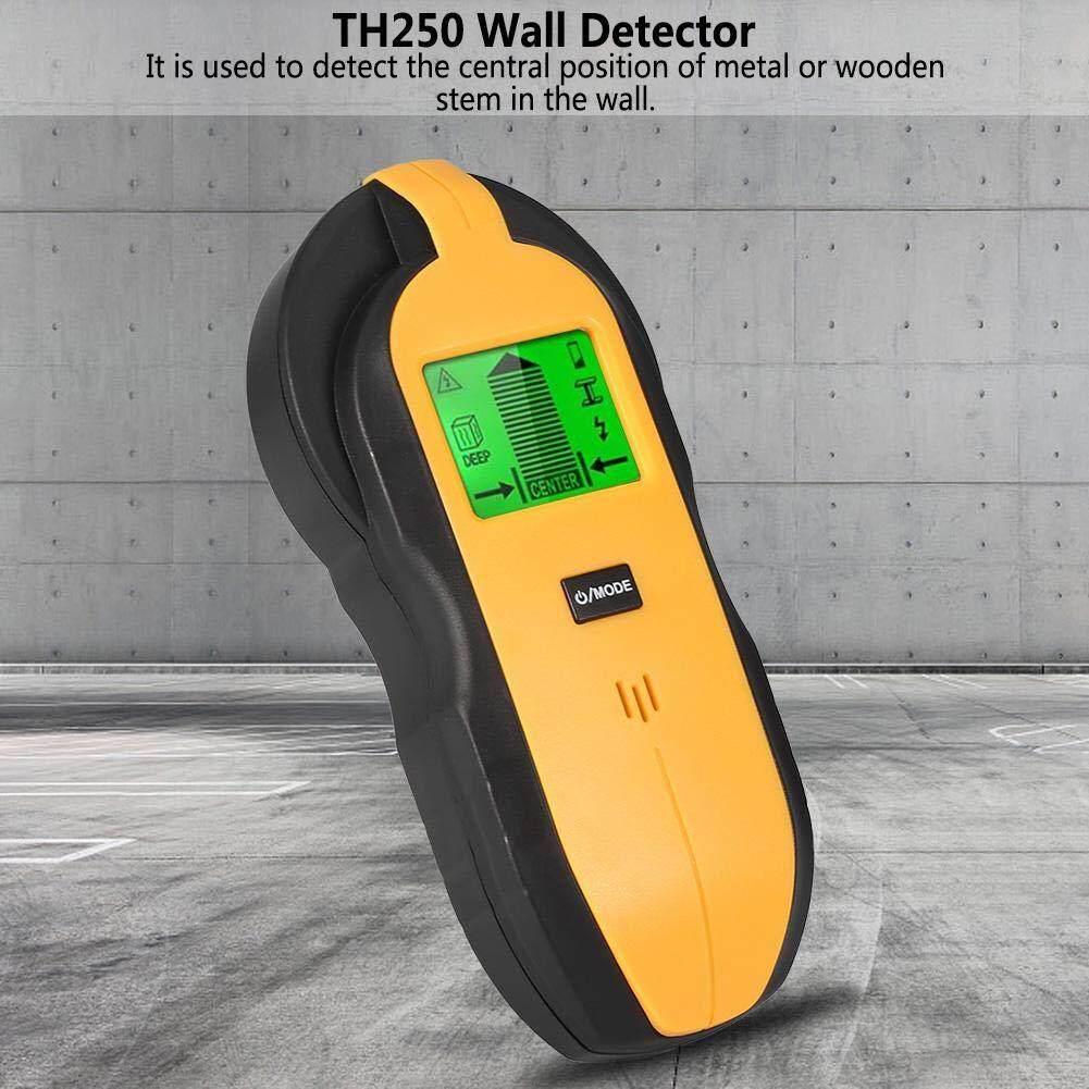 Jomoo Store Tường Báo 4 trong 1 Cảm Biến Tường Máy Quét Lớn MÀN HÌNH Kỹ Thuật Số LCD Gỗ Trung Tâm Tìm Kim Loại Bông báo