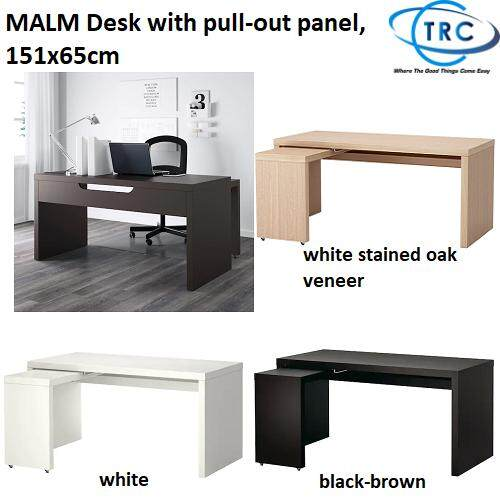 Tremendous Ready Stock Ikea Malm Desk With Pull Out Panel 151X65Cm Download Free Architecture Designs Terstmadebymaigaardcom