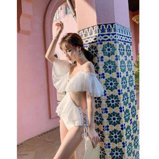 Áo Tắm Nữ Gợi Cảm Hàn Quốc Siêu Cổ Tích 2020 Áo Tắm Mới Ngực Nhỏ Gợi Cảm Tụ Tập Bên Bờ Biển Cho Kỳ Nghỉ thumbnail