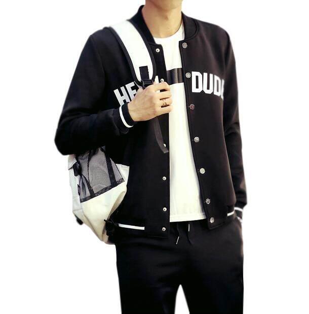 ผู้ชายกีฬาอินเทรนด์ Braid Jacket By Kevin-Udian.