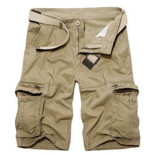 Mens Camo Cargo Shorts Pants Combat Tactical Military Army Short Work Trousers