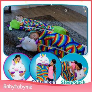 BabyBabyme Happy Túi Ngủ Túi Ngủ Cho Bé Mềm Mại Túi Ngủ S Chăn Mùa Đông Động Vật Hoạt Hình Trẻ Sơ Sinh Trẻ Sơ Sinh Trẻ Em Túi Ngủ S Quà Tặng thumbnail