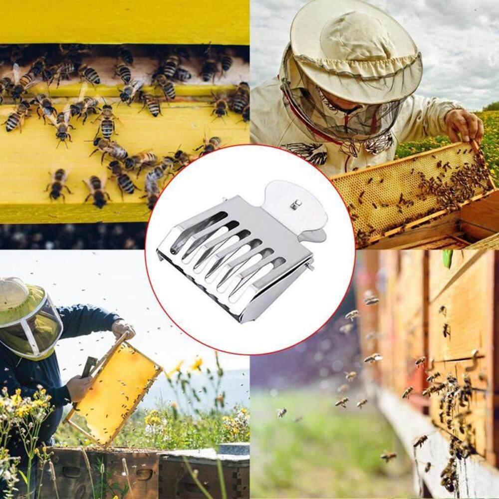Bộ đồ ong trắng chia bộ quần yếm ong