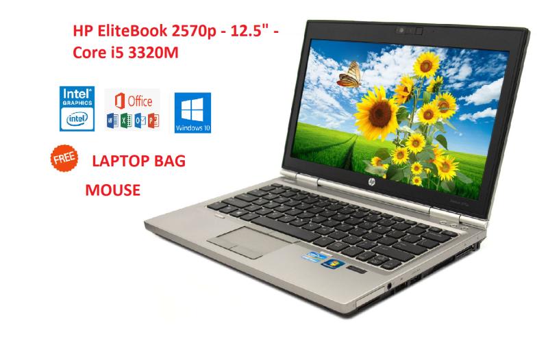HP EliteBook 2570p - 12.5 - Core i5 3320M  2.60 GHz WINDOWS 10 PRO Malaysia