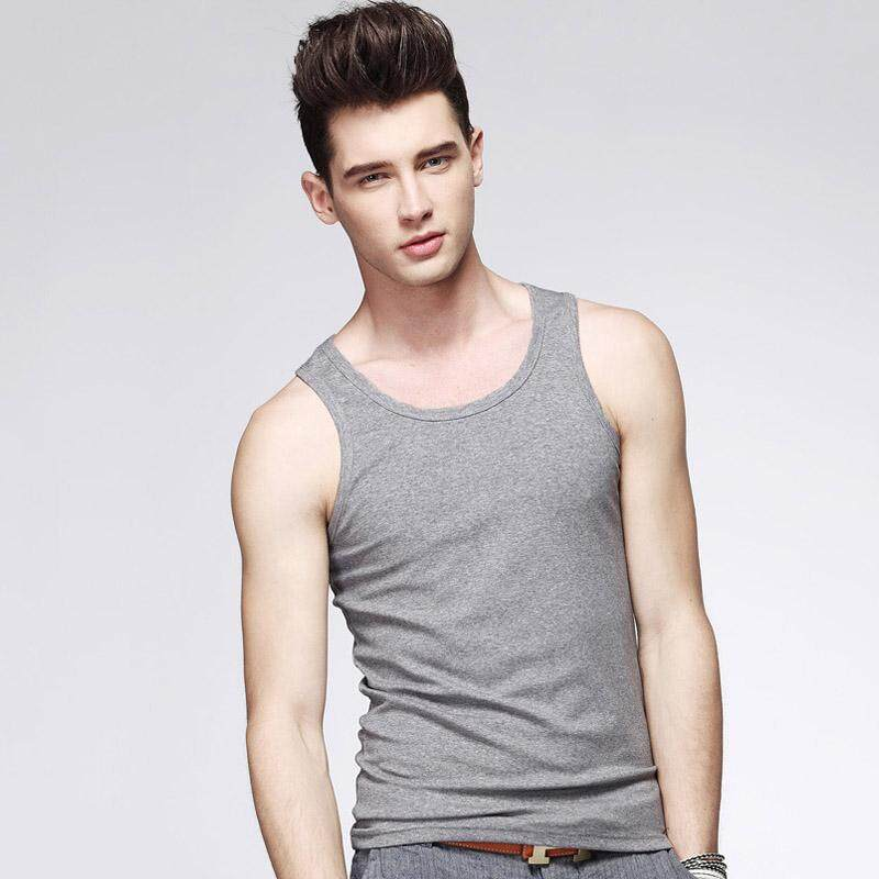 Men Sports Vest Sweat Vest Mens Fitness Stretch Cotton Breathable Men Vest By Rytain.
