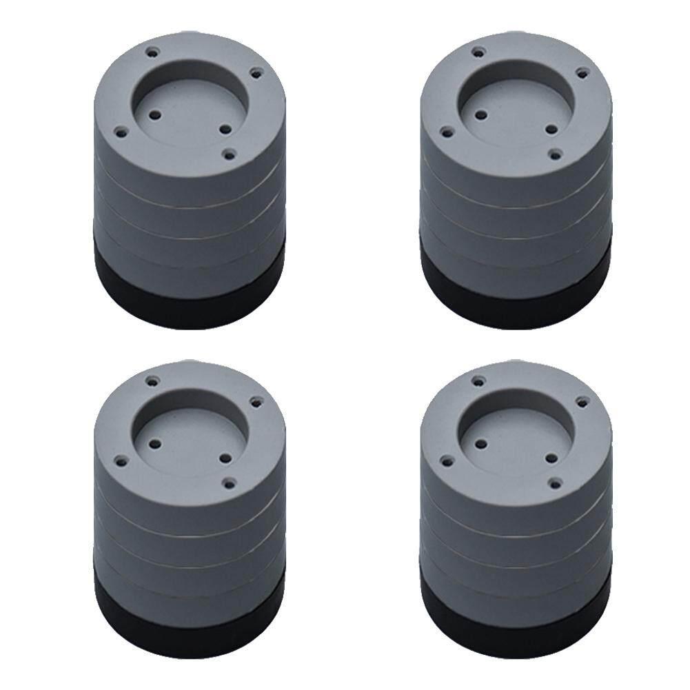 4Pcs Anti Vibration Accessories Waterproof Fixed Universal Furniture Non Slip Washing Machine Feet Pad