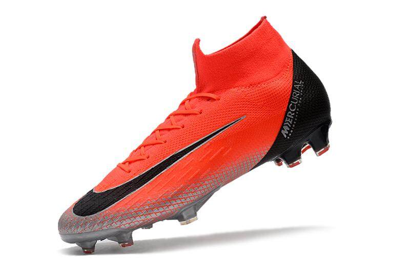 6d6617bbe311 High Ankle Football Boots Superfly Original Fly Knit 360 Elite FG Men s Soccer  Shoes VI 12