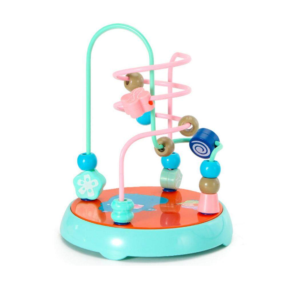 Comebuy88 Colorful Roller Coaster Sliding Beads Maze Math Toys Children Educational Toy By Comebuy88.