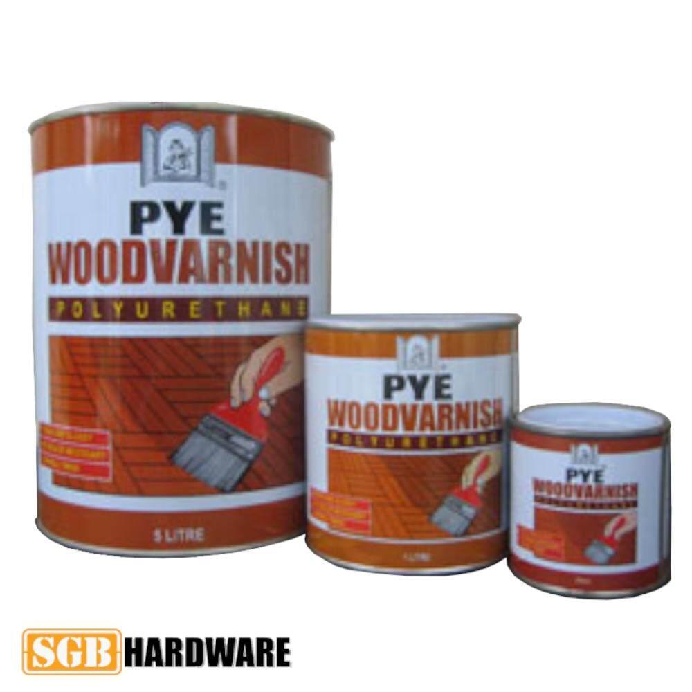 PYE Wood Vanish - Polyurethane Varnish (20L)
