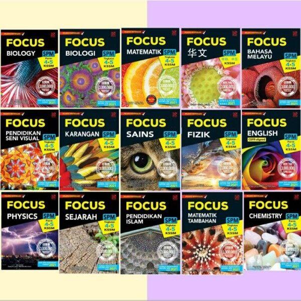 [Sbook] Buku Rujukan Focus SPM Tingkatan 4&5 KSSM (2021) Malaysia