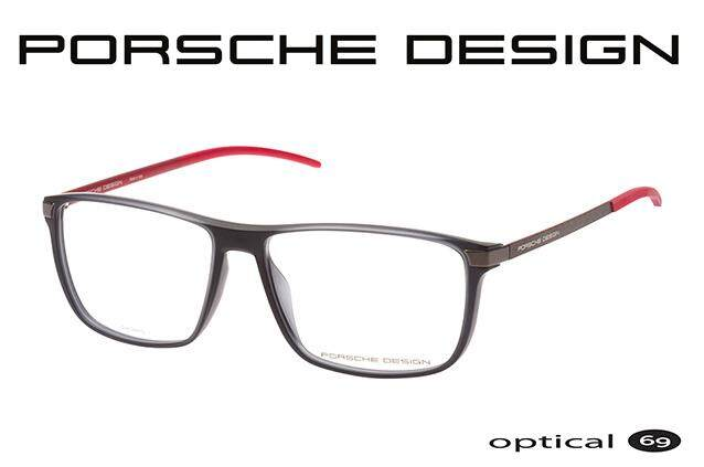 094bd6851a Porsche Design P8327 Black Red Malaysia eyewear optical frame Italy Branded eyeglasses  prescription glasses
