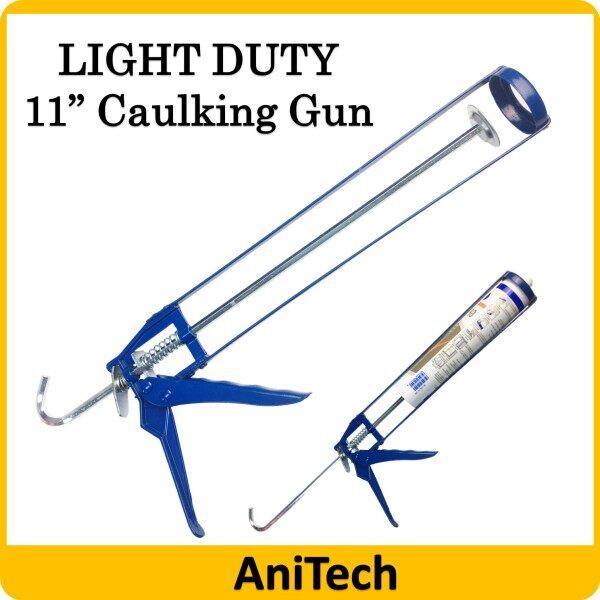 11 Light Duty Skeleton Silicone Caulking Gun for Cartridge Caulk Tool Pressing Inject Silicone Sealant Silikon