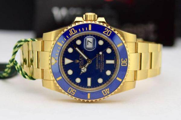 AUTOMATIC_SUBMARINE WATCH (40 MM) GOLD COLOUR FOR MEN Malaysia