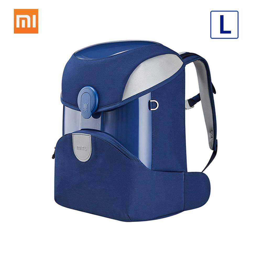 Xiaomi Mitu Kids Backpack 2 Students Children Backpack School Bag School EVA Material Knapsack Simple Shoulder Bag 17L L Size