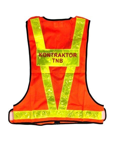 KONTRAKTOR TNB SAFETY VEST  (TNB OFFICIAL SPECIFICATION)