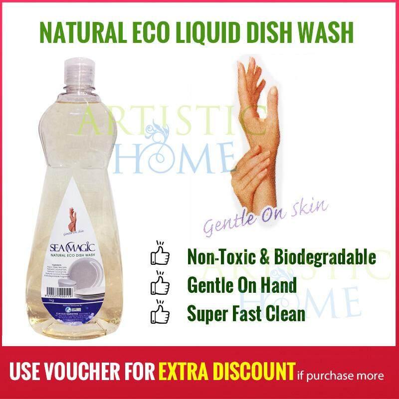 Dishwashing Liquid Natural Eco Sea Magic 1kg Concentrate