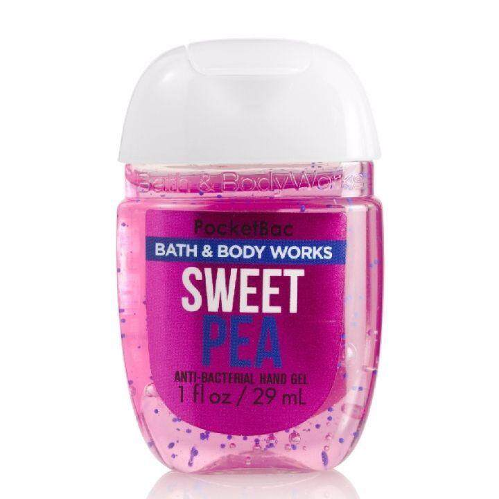 Bath & body works sweet pea hand sanitizer