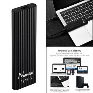 Miracle Shining Ổ SSD Gắn Ngoài Ổ Cứng Thể Rắn Chống Bụi USB Type-C Chống Nước Cho TV Máy Tính Bảng Điện Thoại thumbnail