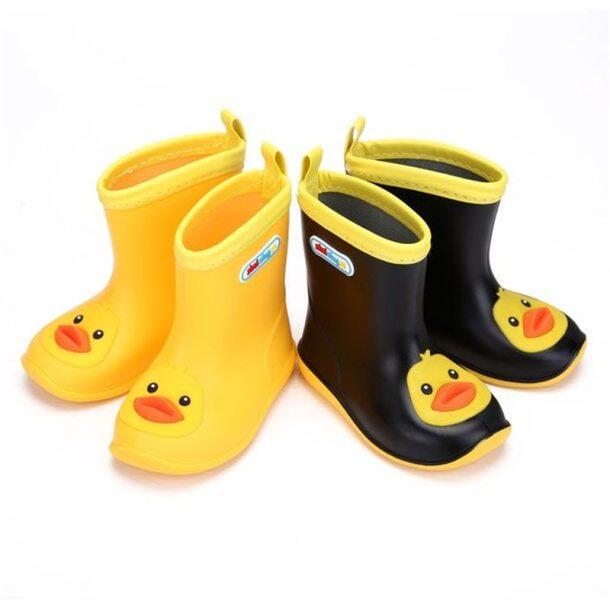 Bốt đi mưa cho trẻ em, Ủng đi tuyết đến mắt cá chân, chống trượt, thoải mái, phong cách hoạt hình dễ thương cho bé trai và bé gái giá rẻ