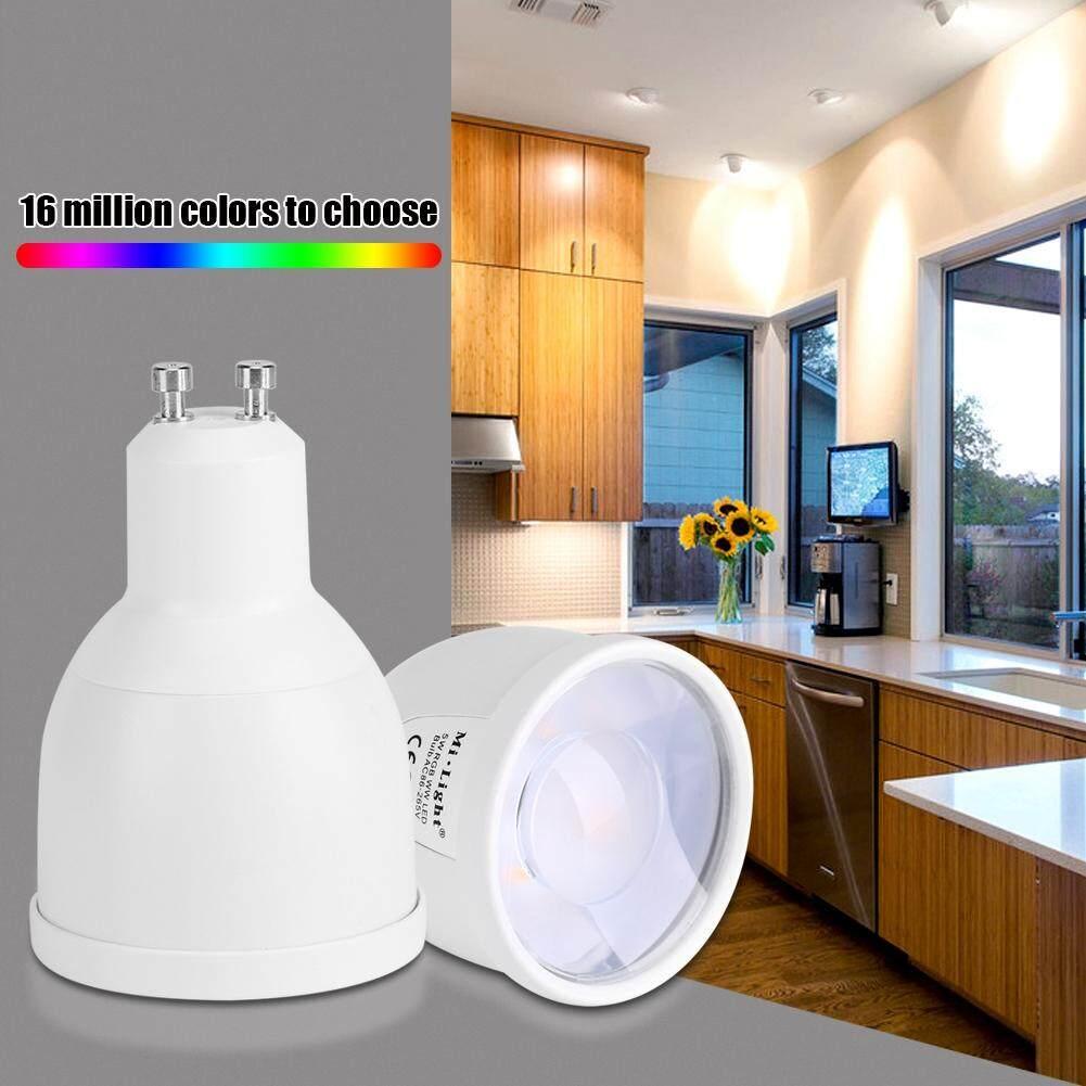 Milight GU10 5W RGB WW LED Spotlight Wifi Smartphone APP Control Light Bulb