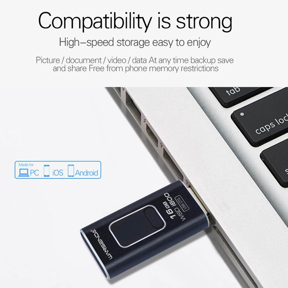 4 in 1 Type-c Pendrive USB Flash Drive Memory Stick For iPhone Android PC 256GB