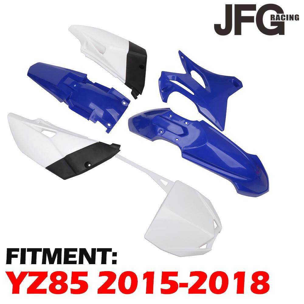 Motorcycle Plastics Kit Front Rear Side Cover Fairings Fender Number Plate  For Yamaha YZ85 YZ 85 2015 2016 2017 2018
