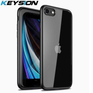 Ốp Thời Trang KEYSION Ốp Lưng Điện Thoại Chống Sốc Mờ Trong Suốt SE2 Mới 2020 Dành Cho iPhone SE Dành Cho iPhone XR XS Max X 8 7 Plus thumbnail