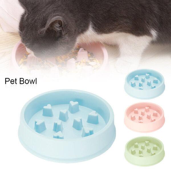 Pet Bát chó chậm trung chuyển Pet Bát vui vẻ bloat mê cung thực phẩm tương tác khỏe mạnh ăn chó mèo nói chung cho động vật nhỏ