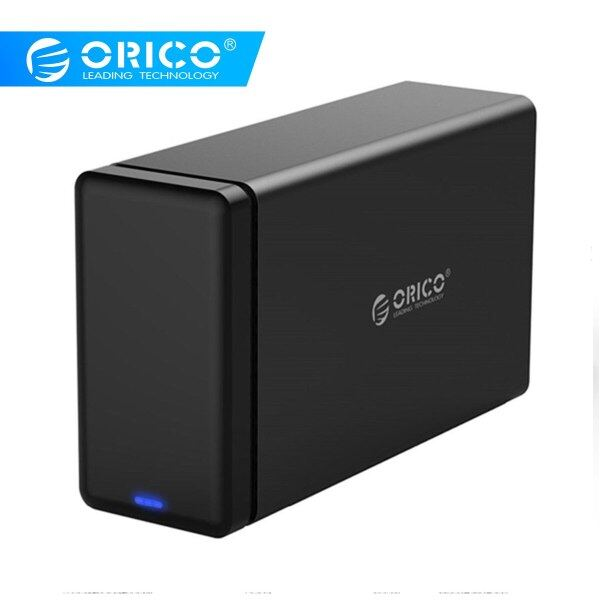 Orico Raid 3.5 Type-C Aluminum Hard Drive Disk External Enclosure Usb3.1 To Sata3.0 Hdd Case Support 5Gbps Uasp 12V4a 20Tb