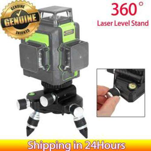 【Time-limited Promotions】【Upgraded Version】360 Degree Standard Aluminum Alloy Tripod Stand Bracket with 5/8 Thread for Laser Level