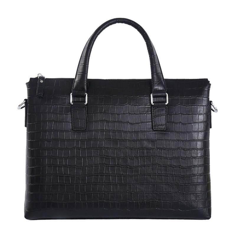 8426fcb362f7 KEVIN YUN Fashion Genuine Leather Men Bag Business Men Briefcase Laptop Bag  Brand Handbags Shoulder Bags