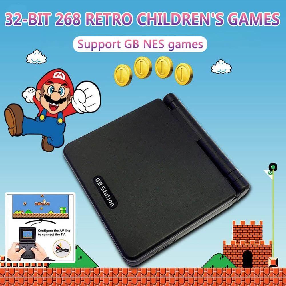 32-Bit 268 Retro Permainan Anak-anak Konsol Mini GB Mesin Permainan Handheld Dapat Men-download GBA Lucu Rekreasi Mesin
