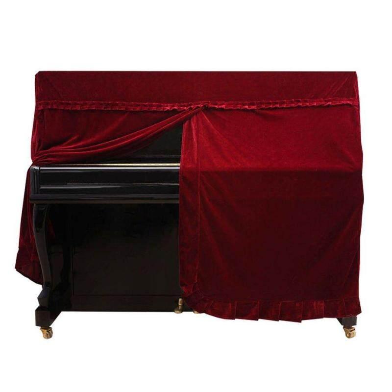 Bán Pleuche phủ đàn Piano nhung chống bụi tay