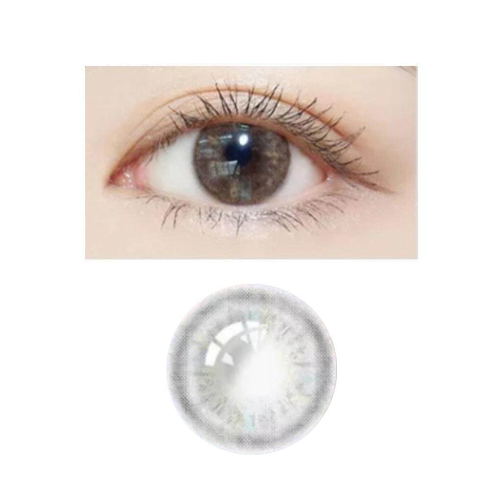 ac12cbcd7da 1pcs 14.2mm Contact Lens Devil Serie Eye Accessory Color Yearly Lens 0  Degree (gray